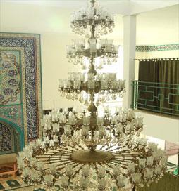لوستر مسجدی بزرگ الوند