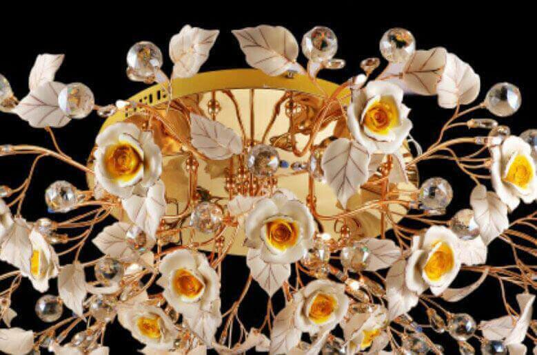 لوستر-سقفی-مدل-9856-24-شاخه-طلایی