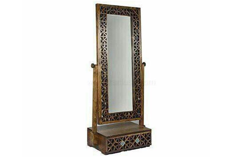 آینه کنسول با طرح چینی