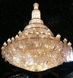 لوستر مسجدی رازقی