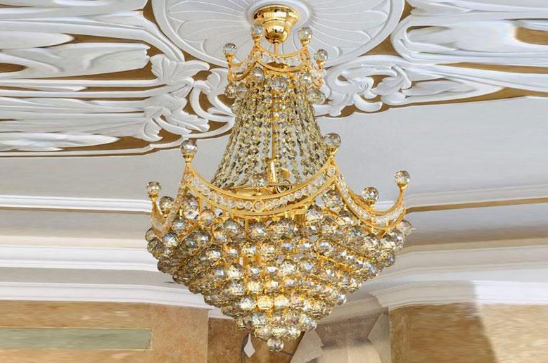 لوستر کریستالی پرنس سایز 60