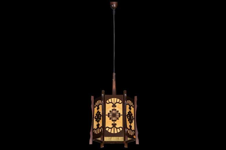 آویز چوبی-110