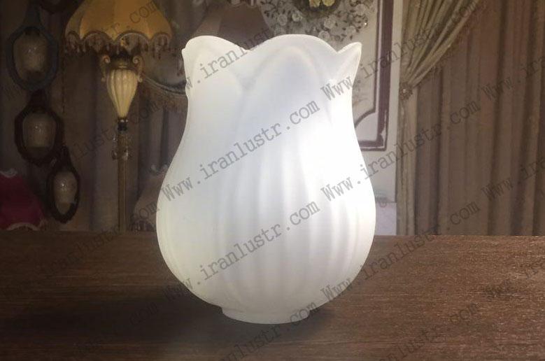 حباب-لوستر-زنبق-سفید