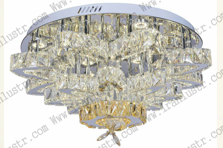 لوستر-سقفی-کریستالی-مدرن-72053-سایز-80