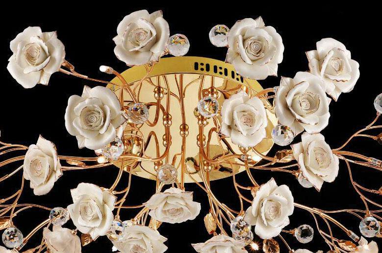 لوستر-سقفی-مدل-9788-13-شاخه-طلایی