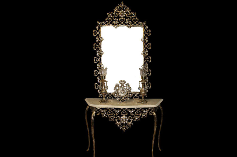آینه-شمعدان-مارینه