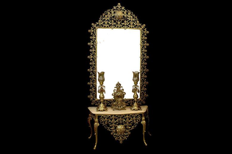 آینه شمعدان نیکان