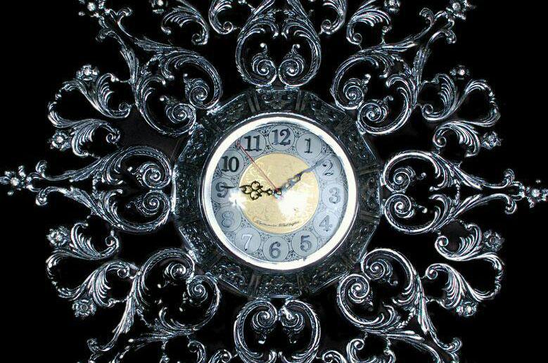 ساعت-دیواری-انتیک-1007-کروم