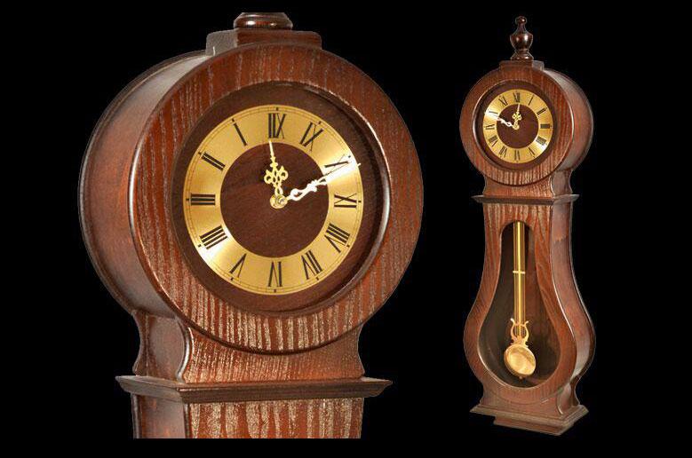 ساعت-دیواری-چوبی-H127