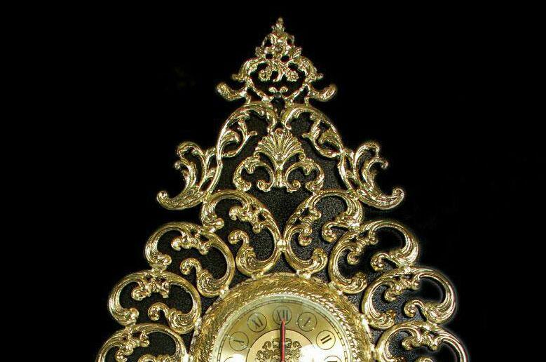 ساعت-دیواری-انتیک-مدل-رولکس-پاندولدار