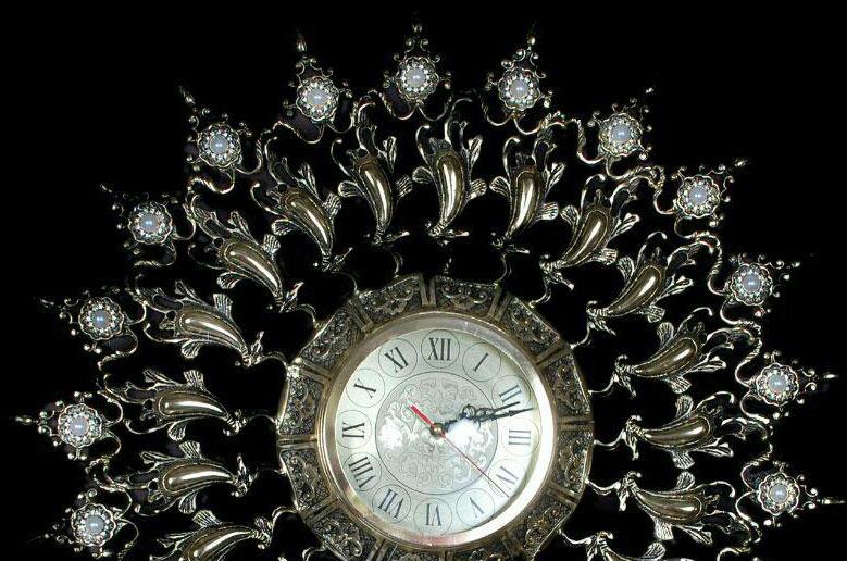 ساعت-دیواری-انتیک-مدل-1003