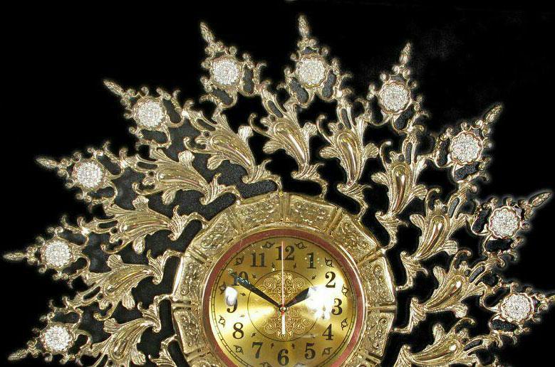 ساعت-دیواری-انتیک-مدل-ارکیده-1
