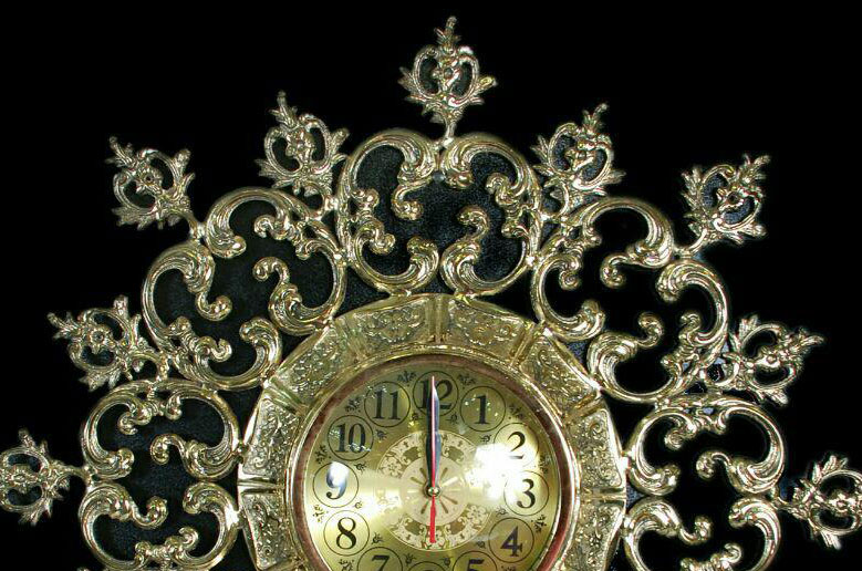 ساعت-دیواری-انتیک-مدل-رولکس-کوچک