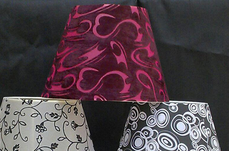 شید (کلاهک) آباژور در رنگ بندی مختلف