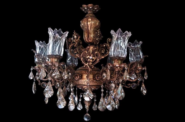 لوستر شاخه ای کلاسیک لامپارد