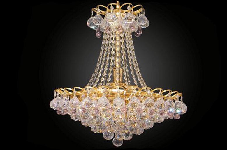 لوستر کریستالی مکدونیا crystal luster 40