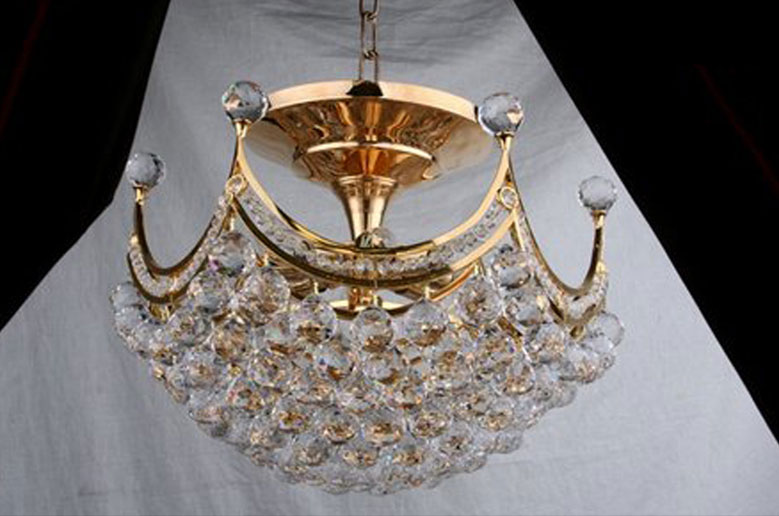 لوستر کریستالی سقفی پیکاسو crystal luster s50