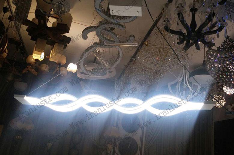 چراغ آویز مدرن خطی 8048 مناسب نهارخوری و اوپن