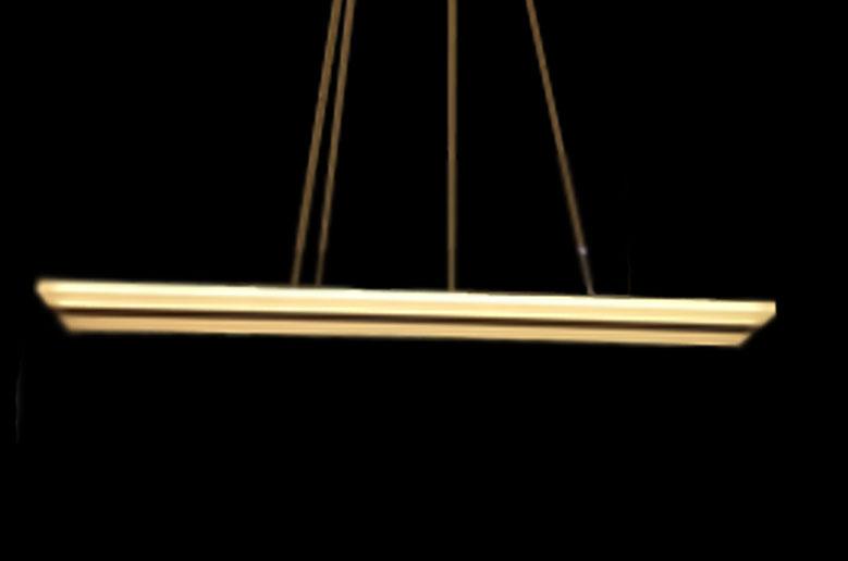 چراغ آویز مدرن خطی bz825 مناسب نهارخوری و اوپن