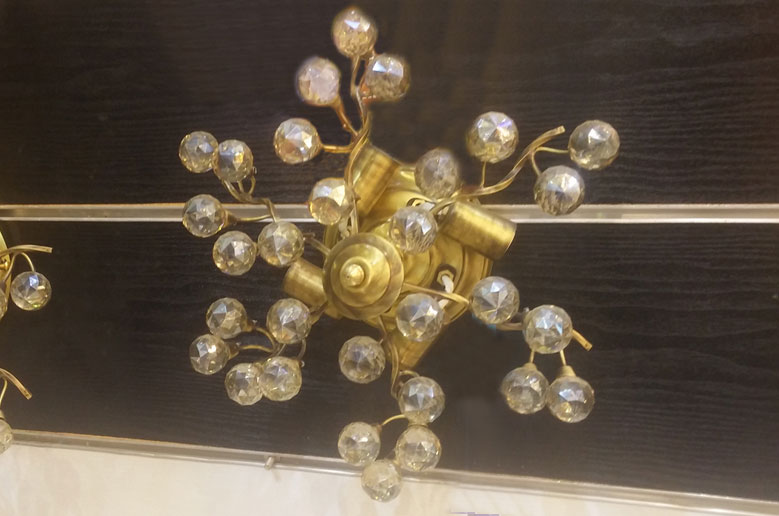 لوستر-سقفی-مدل-132-4-شعله-طلایی