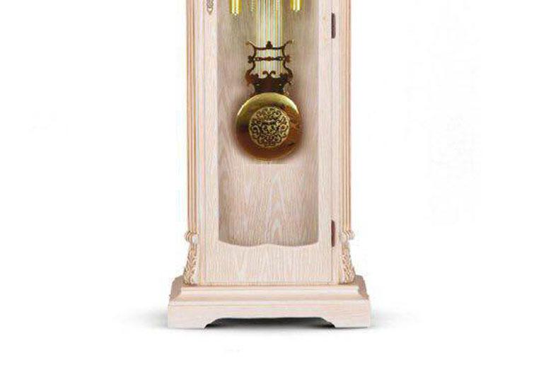 ساعت-ایستاده-چوبی-مدل-مورنا-سفید