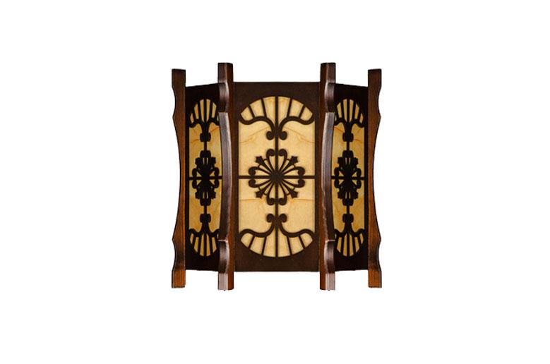 دیوارکوب-چوبی-دایموند