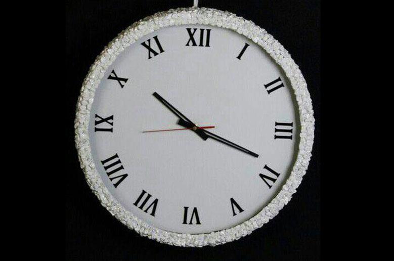 ساعت-دیواری-سفید-9032