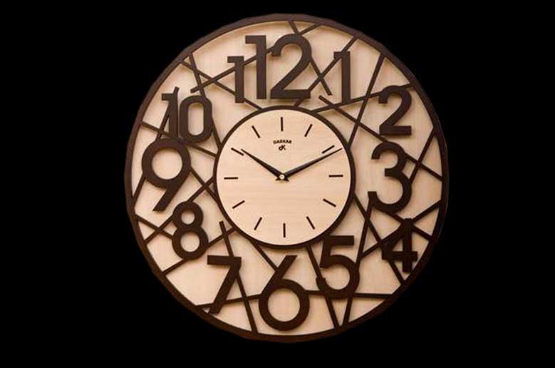 ساعت دیواری چوبی وستا