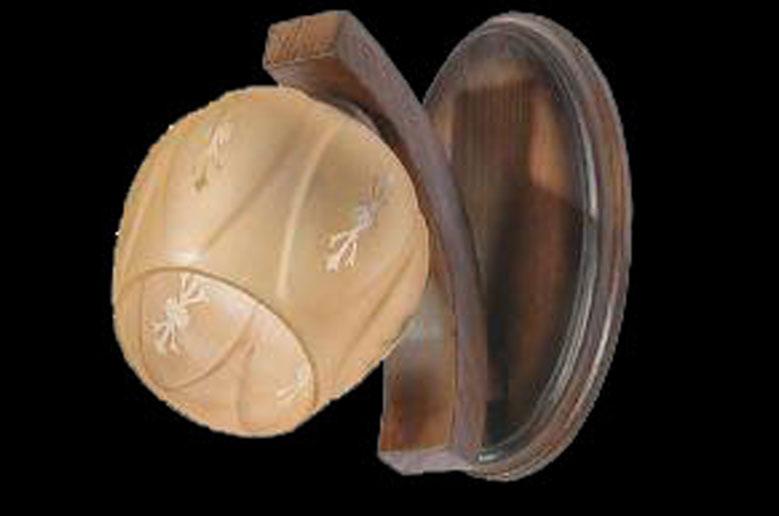لوستر-چوبی-603-دیواری-شاخه