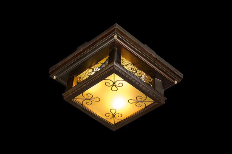 لوستر چوبی سقفی 4014 متوسط(کوروش دارکار)