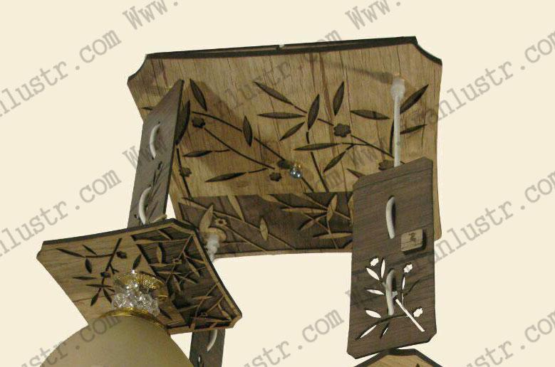 اویز-چوبی-نامنظم-مدل-برگی-4