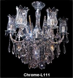 لوستر کلاسیک ال کروم 111