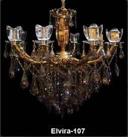 لوستر کلاسیک شاخه الویرا 107