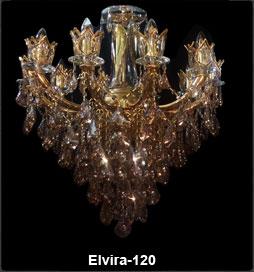 لوستر کلاسیک شاخه الویرا 120