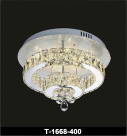 لوستر سقفی کریستالی 1668 قطر 40