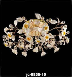 لوستر-سقفی-مدل-9856-16-شاخه-طلایی