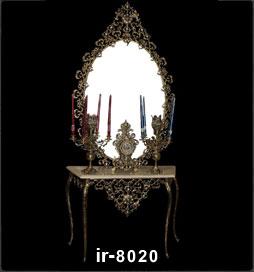 آینه شمعدان ماری