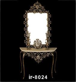 آینه شمعدان مارینه