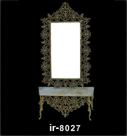 آینه شمعدان سلطانی