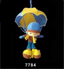 لوستر اتاق کودک پسر چترسوار