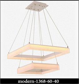 چراغ آویز مدرن 1368 با ابعاد 60 و 40