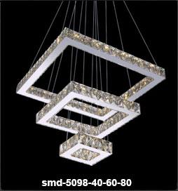 چراغ آویز مدرن 5098 سه حلقه