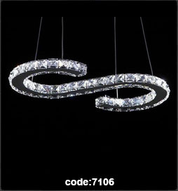 چراغ اویز مدرن 7106-smd
