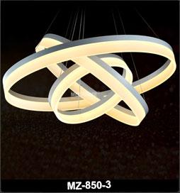 آویز مدرن فلکسی 850 با قطر 80 و 60 و 40