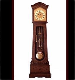 ساعت-چوبی-مدل-ویکتوریا-قهوه-ای