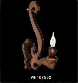 دیوارکوب چوبی 10755