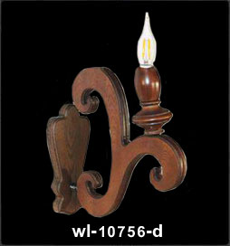 دیوارکوب چوبی 10756
