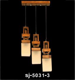 آویز چوبی سه شاخه 5031 (رکسانا)