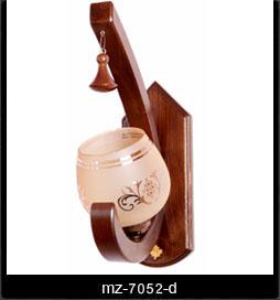 لوستر دیوارکوب چوبی 7052
