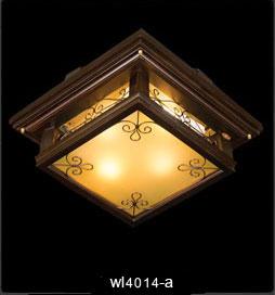 لوستر چوبی سقفی 4014 بزرگ(کوروش دارکار)